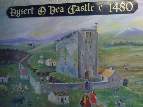 Dysert O'Dea Castle and Archaeology Centre: Art Inside O'Dea Castle