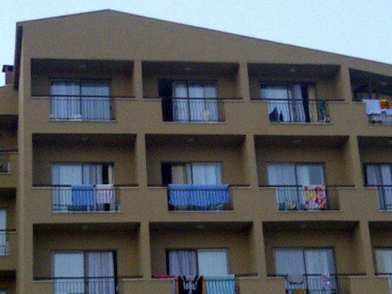 Club Hotel Falcon : Hotel building