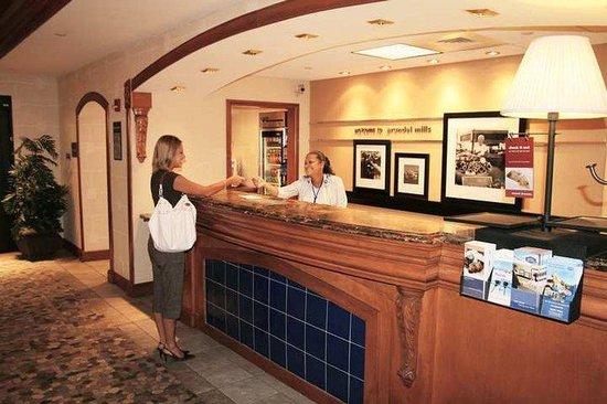 Hampton Inn and Suites Arundel Mills / Baltimore: Lobby