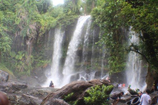 Siem Reap Province, Cambodia: waterfall Phnom Kulen