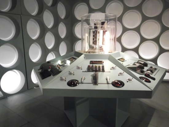 Doctor Who Experience Cardiff Bay: Original controls