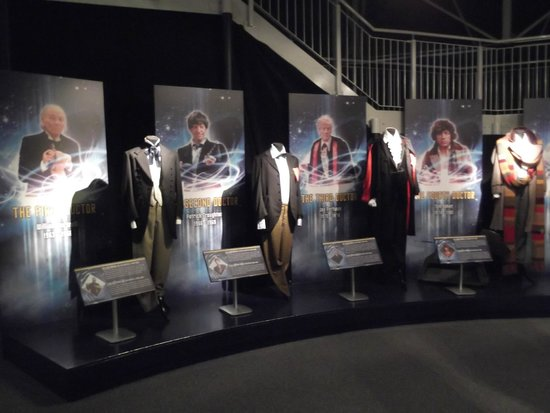 Doctor Who Experience Cardiff Bay: Doctor's costumes