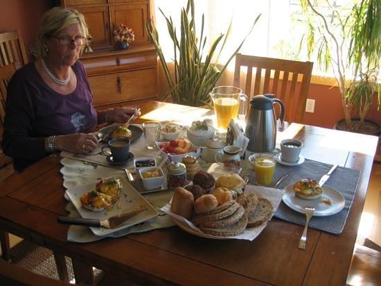 Brouse Creek B&B: Frühstück vom Feinsten