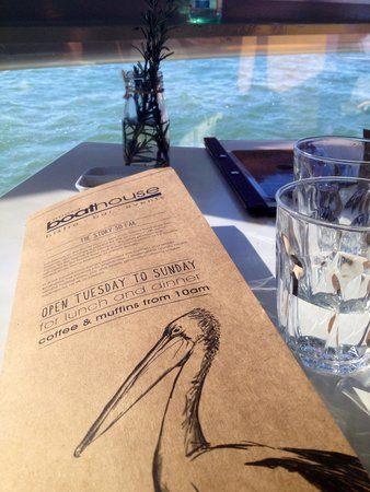 Noosa Boathouse: menu