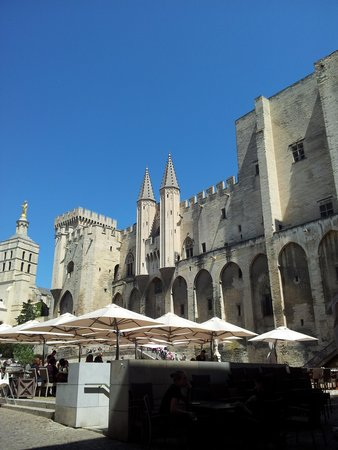 Novotel Avignon Centre: The Palace of the Popes..