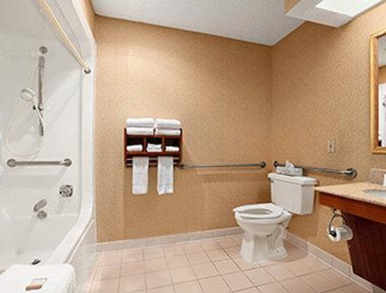 Baymont Inn & Suites - Lewisville: ADA Bathroom
