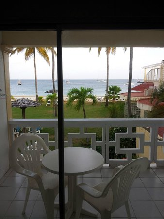 St. Lucian by Rex Resorts : The balcony