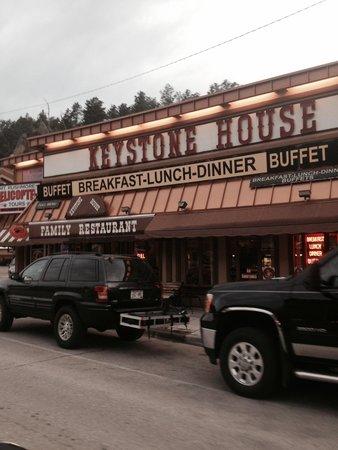 Keystone House Family Restaurant: Worst food ever!!