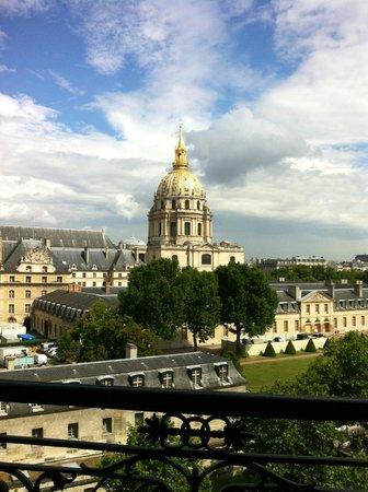 Hotel de l'Empereur: Unforgettable view!!!! No zoom, no effect! (Room 64)