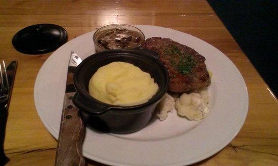 Bailiez Cafe : My meal at Bailiez