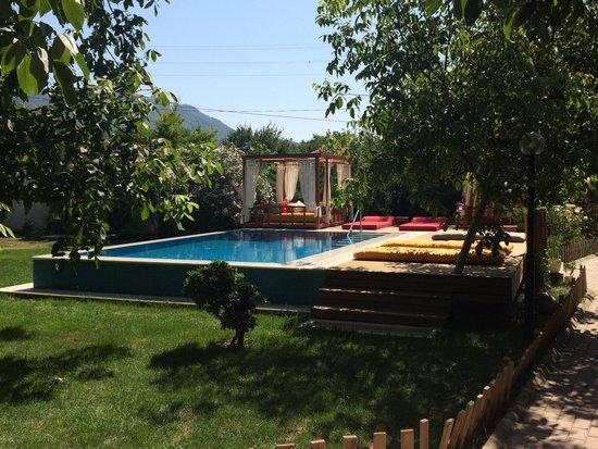 Ephesus Lodge : Gorgeous pool and sun-lounge area
