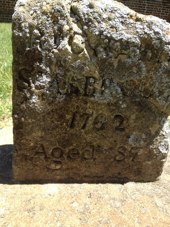 Blandford Church and Cemetery: Oldest gravestone