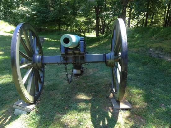 Petersburg National Battlefield Park: Random canons all over the battlefield