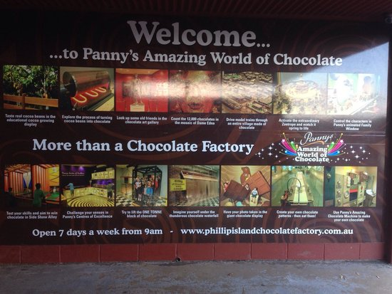 welcome picture of phillip island chocolate factory. Black Bedroom Furniture Sets. Home Design Ideas