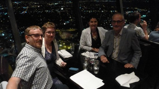 Sky Tower : Dinning with friends