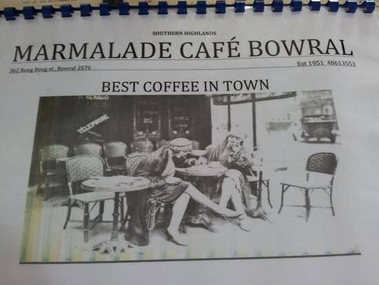 Marmalade Cafe: Here it is !