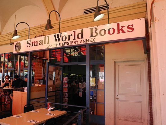 Photo of Tourist Attraction Small World Books at 1407 Ocean, Venice, CA 90291, United States