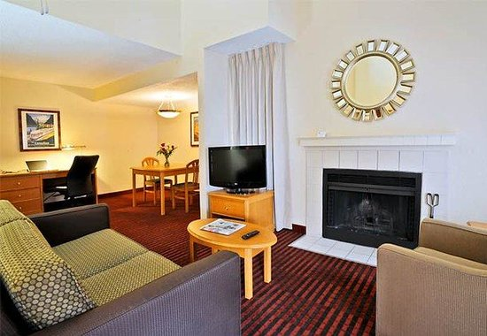 Residence Inn Detroit Troy/Madison Heights: Penthouse Living Area