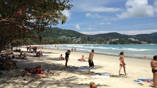 Kata Beach: North shade looking south