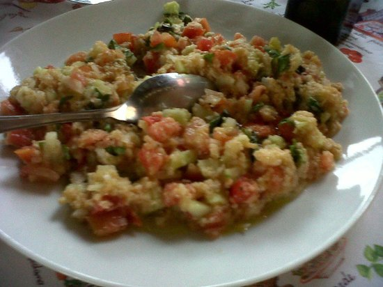 Cooking Vacations Italy : I really loved the panzanella; a countryside bread salad.