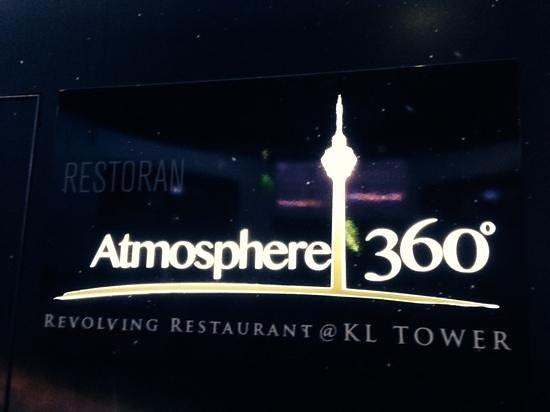 Menara Kuala Lumpur (KL Tower): A diner with the best view in town, when the sky is clear.