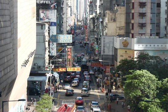 Cordis, Hong Kong at Langham Place: View from the bridge.