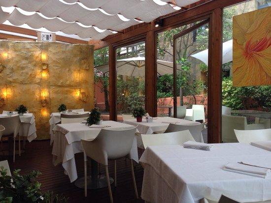 Abitart Hotel: Risveglio e colazione immerso nel verde.... Ma non ero in centro a Roma? Piacevolissimo