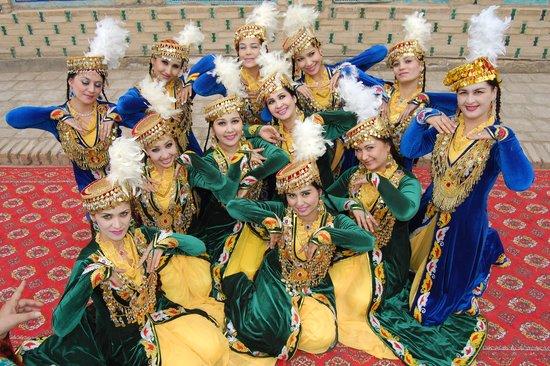 Khiva, Uzbekistan: Хивинские девушки - самые красивые!