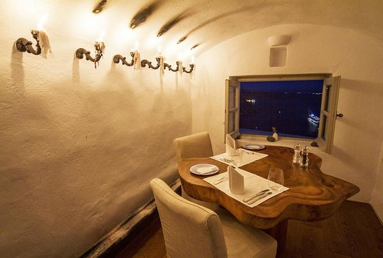 Iconic Santorini, a boutique cave hotel : Private Dining Room