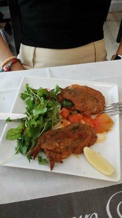 Le bistrot du sommelier: Beignets sardine basilic mozzarella