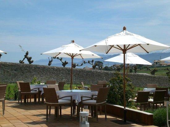 Foto de Balcón del Sueve - Palacio de Luces, Luces: Terraza exterior ...