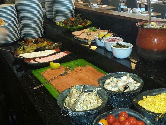 InterContinental David Tel Aviv : Desayuni buffet