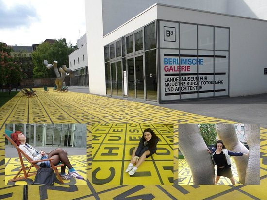 Berlinische Galerie: by the entrance