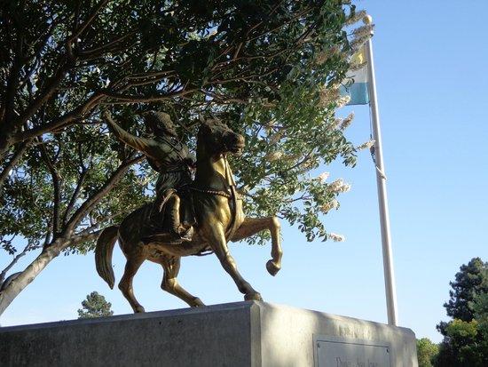 San Jose, Californien: Statue of Shivaji Maharaj