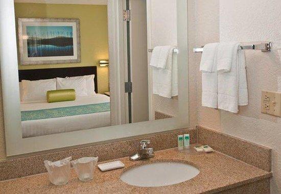 SpringHill Suites Houston Hobby Airport: Suite Vanity