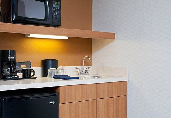 SpringHill Suites by Marriott Chicago Naperville / Warrenville: Suite Kitchenette