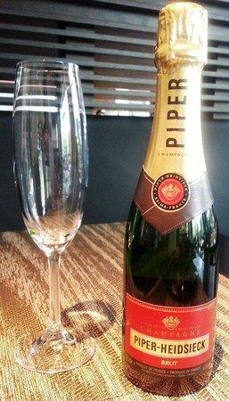 Twelve Atlantic Station: Half Bottle of Champagne