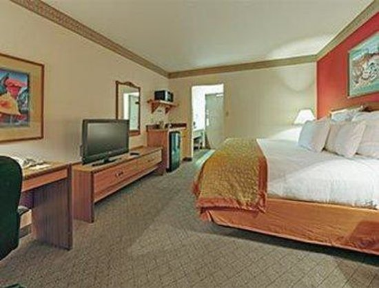 Hawthorn Suites by Wyndham Albuquerque: 1 King Bed Room with Wet Bar