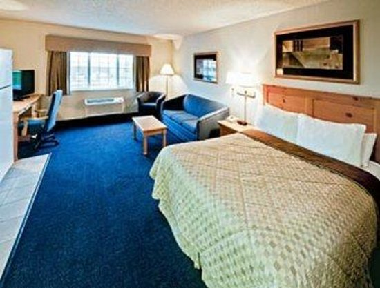 Hawthorn Suites by Wyndham Oshkosh : 1 Queen Bedroom