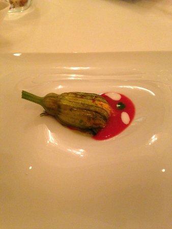 Ristorante Don Alfonso 1890: fiore di zucchina