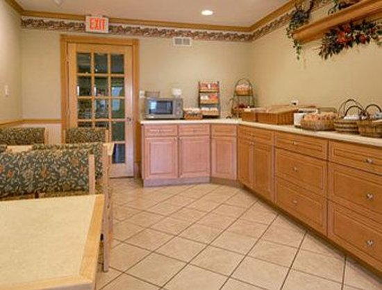 Baymont Inn & Suites Zanesville: Breakfast Area