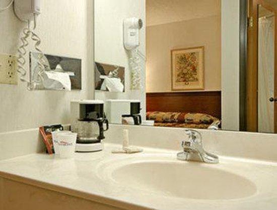Baymont Inn & Suites Zanesville: Bathroom