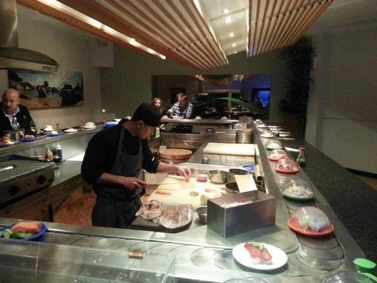 Codfather Seafood & Sushi: Sushi bar
