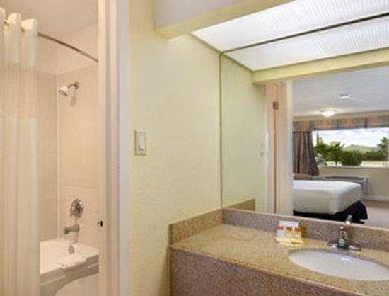 Days Inn Shenandoah TX: Bathroom
