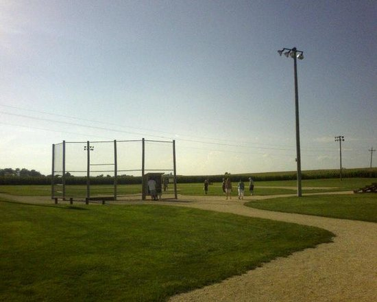 Field of Dreams Movie Site: the baseball field