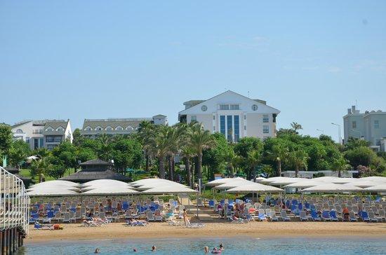 Alva Donna Beach Resort Comfort: вид с пирса