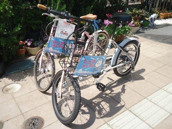 Shizutetsu Hotel Prezio Shizuoka-Ekikita: レンタサイクルがあります