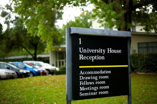 University House Entrance