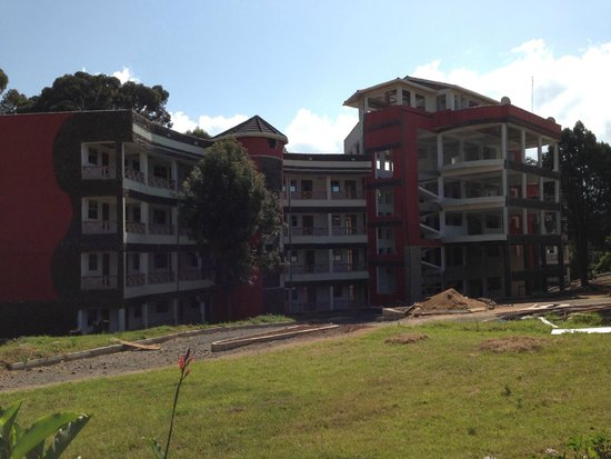 Naro Moru, Kenya: New (under-construction) accommodation