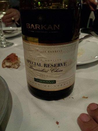 Manta Ray: Chardonnay barkan